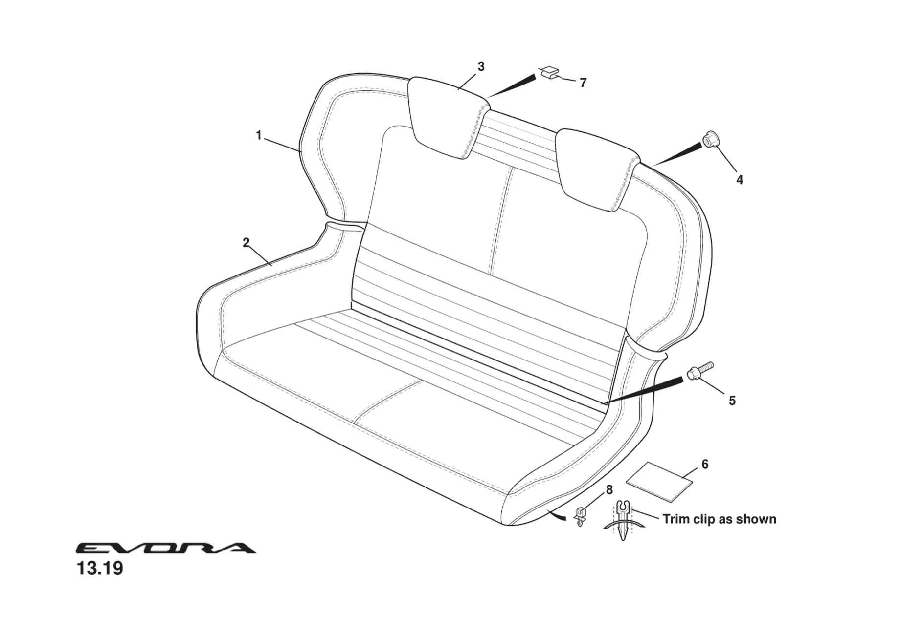 Seat Assembly, rear